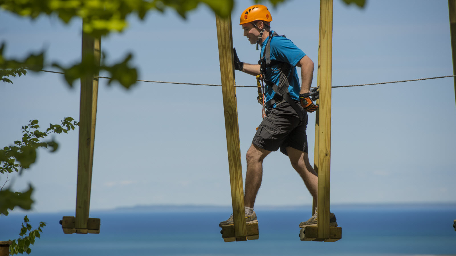 Blue Mountain Fall Activities - Ropes Courses